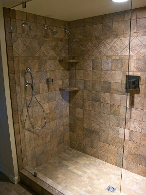 Barners House of Floors Custom Handicap Accessible Showers